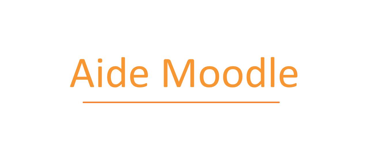 Aide Moodle (étudiants)
